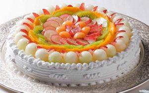 торт фруктовое лукошко на заказ в Самаре