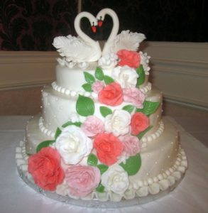 торт свадебный на заказ в Самаре