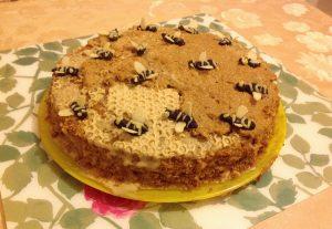 торт медовый пчелка на заказ в Самаре